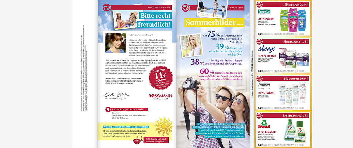 Rossmann Beauty and Trends Magazin inkl. Coupons - Couponing