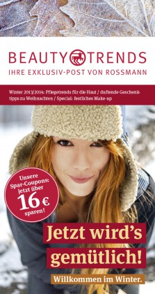 Rossmann Beauty and Trends Titel Winter 2013/2014